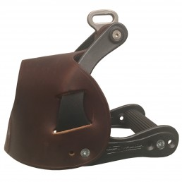 Pair of hulls for stirrups Bi-relax Alu