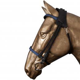 Simple Bridle L coffeeblackSimple Bridle L coffeeblack