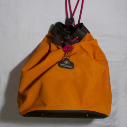 [ OCCASION ] Sac de Selle Orange / Marron[ OCCASION ] Sac de Selle Orange / Marron