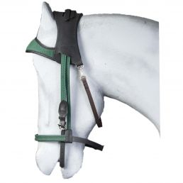 Black and Green Simple Bridle