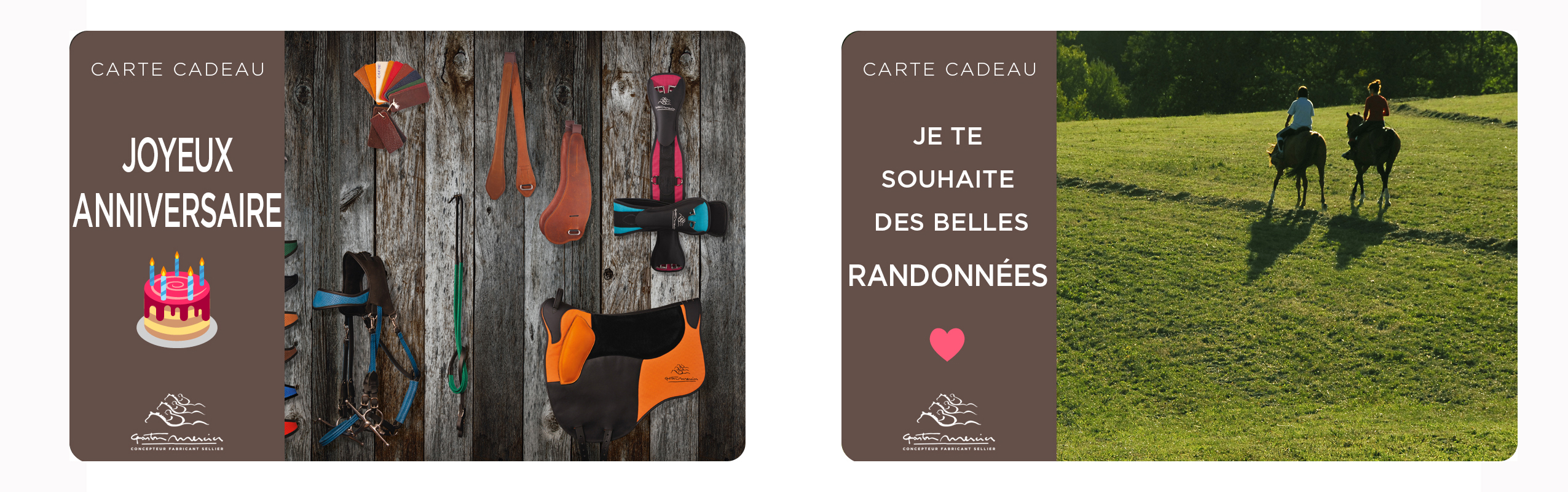 Carte Cadeau Gaston Mercier