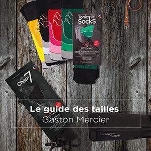 Guides des tailles Gaston Mercier