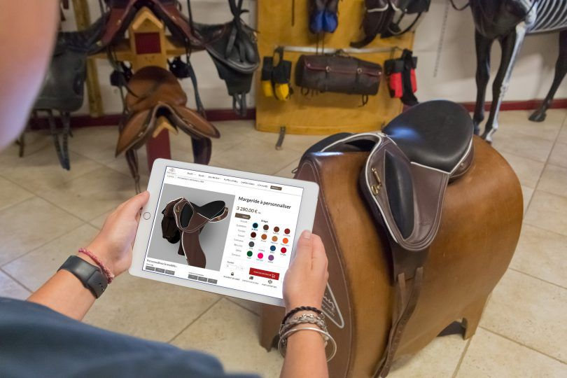 Gaston Mercier to improve customer experience with the launch of its online saddle configurator