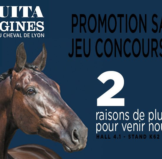 Promotional Offer on the Gaston Mercier shop: Free shipping throughout the Equita trade show