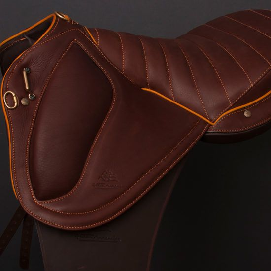 The Doline II saddle at the heart of the Human & Horse Academy